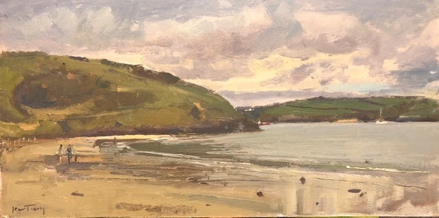 """KARL TERRY   Daymer Bay   OIL ON BOARD   25 x 51 cm   £1,200<br /><a class=""""buy-button"""" href=""""mailto:info@dacre-art.com?subject=Website%20Enquiry"""">Enquire</a>"""